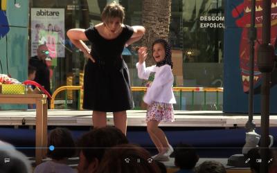 En diuen Tano a la Marató de contes explicat per Cati Serra i Maria Marimón