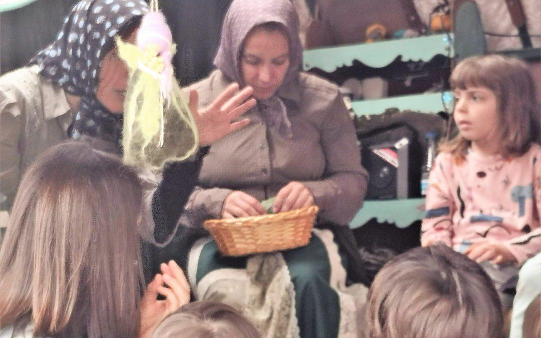 Vam gaudir molt amb el carro dels contes i las  trementinaires