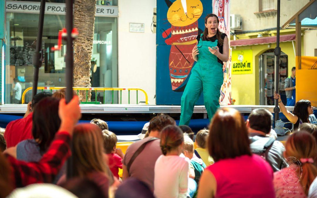 SYIËLLE a la Marató de contes amb la Susanna Garcia-Prieto i la Banda de Música Infantil Mestre Montserrat