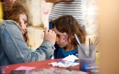 Maquillatge, taller de l'Associació Kitxalla