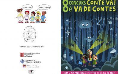 Bases del 8è concurs de contes i còmics Conte va! Va de contes