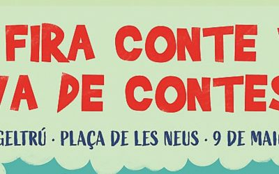 Presentació Cartell de la 8a Fira Conte va! va de contes